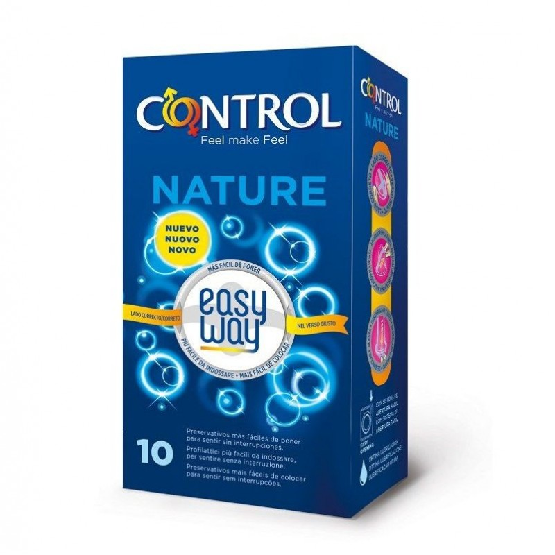 Control Nature Easy Way Preservativi classici