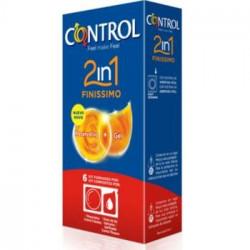 Control Finissimo con lubrificante monodose 2 in 1