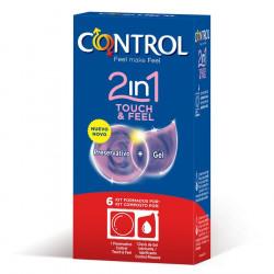 Control Touch & Feel con lubrificante monodose 2 in 1
