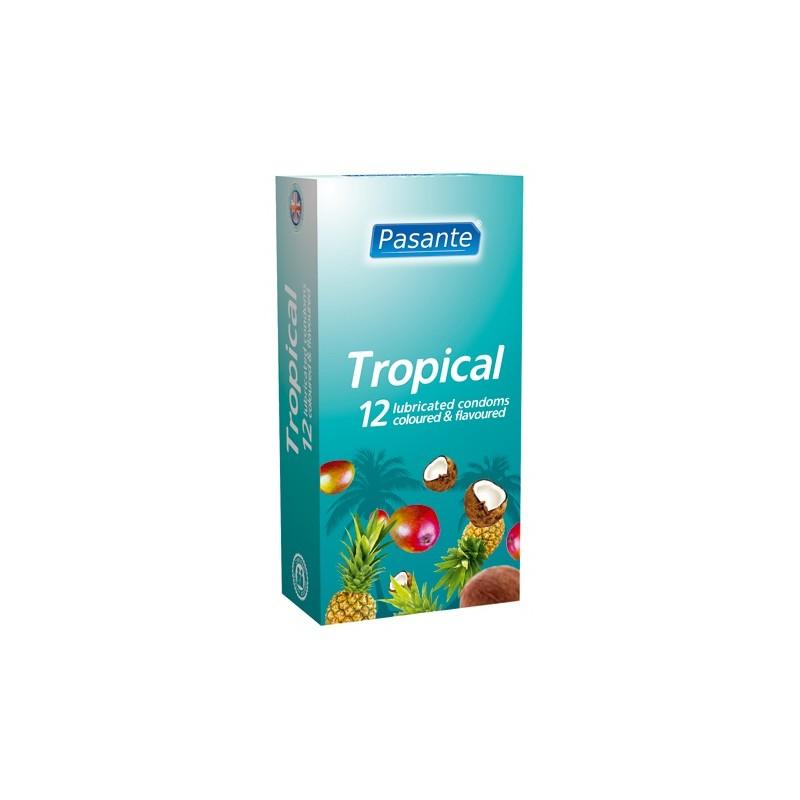 Pasante Tropical Preservativi Cocco Ananas e Mango
