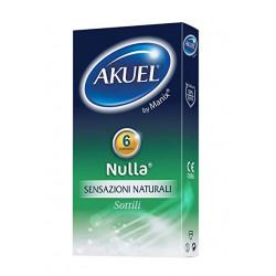 Akuel Nulla Preservativi Sottili