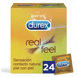 Durex Natural Feeling Preservativi Anallergici Super Sottili