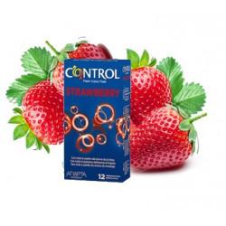 Preservativi Control aromatizzati alla fragola